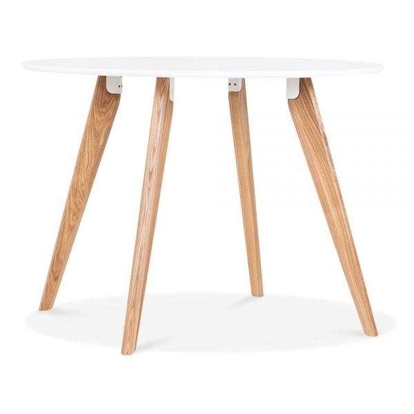 Cult Living Hemming Dining Table   White 100cm