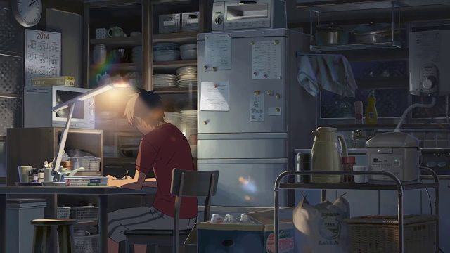 Cross Road Reflection on a Makoto Shinkai short film