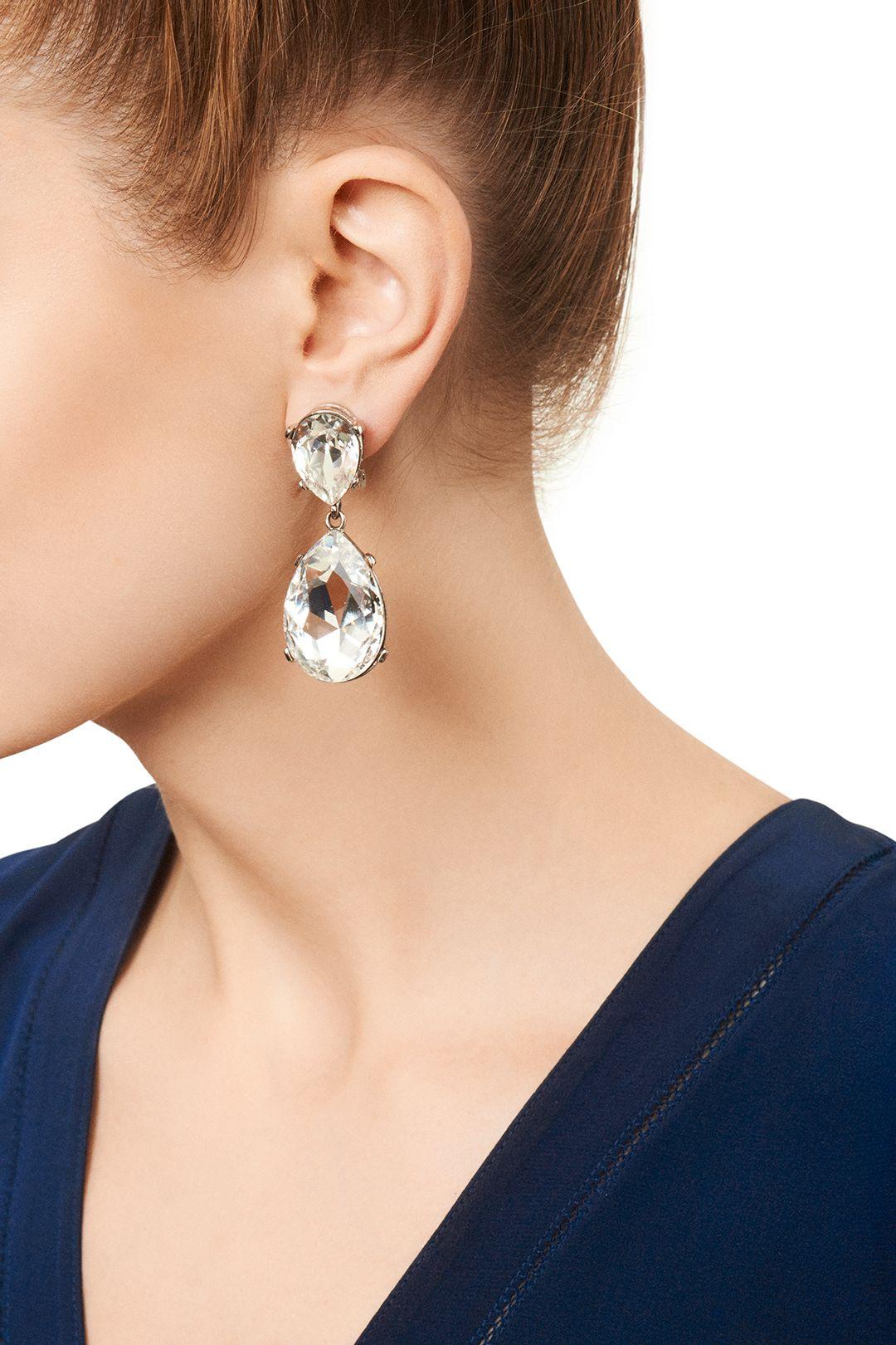 Jay Lane Clear Drop Earrings Drop earrings