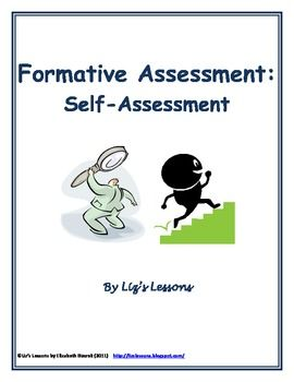 SelfAssessment Fomative Assessment Template  Template Students