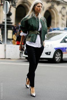 Paris – Sarah Harris (StreetStyle Aesthetic )