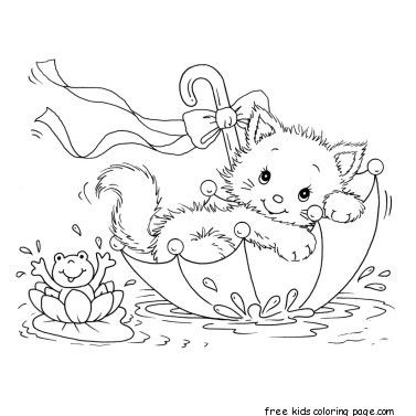 Pin By Kathy Mclaughlin On Crafts Cat Coloring Page Printable