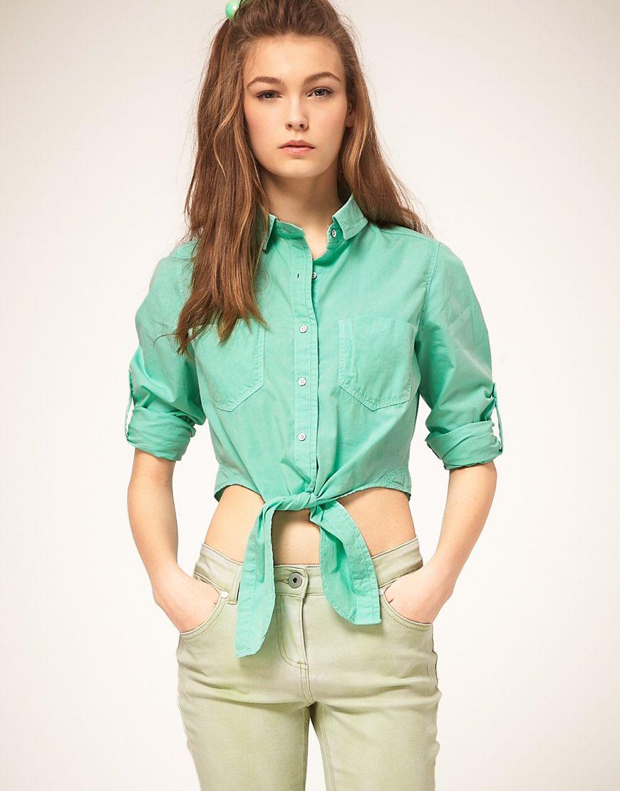 Зеленая рубашка: модные модели и с чем ее носить? | Модные ...