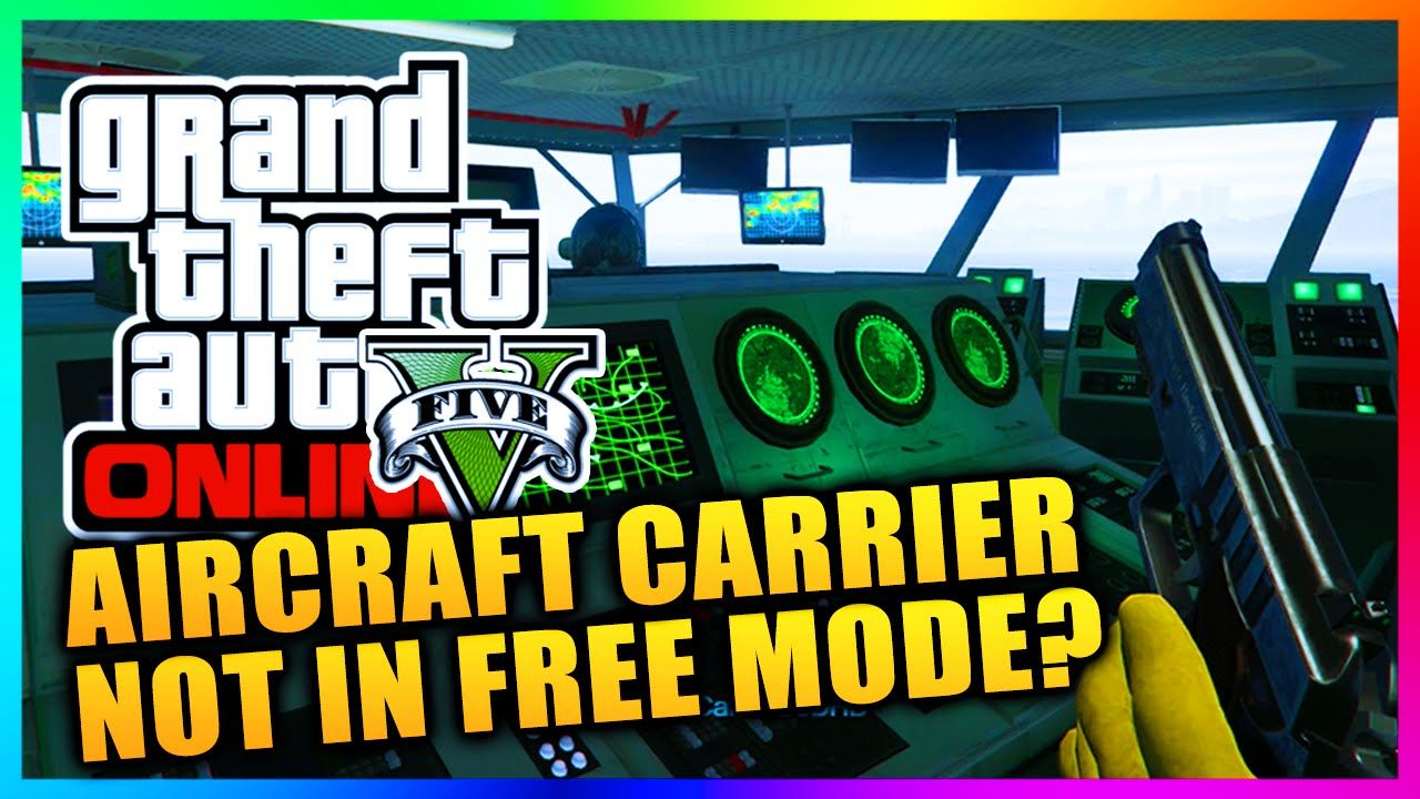 GTA 5 Online - Heists Aircraft Carrier NOT Coming To Free Mode - Will It...