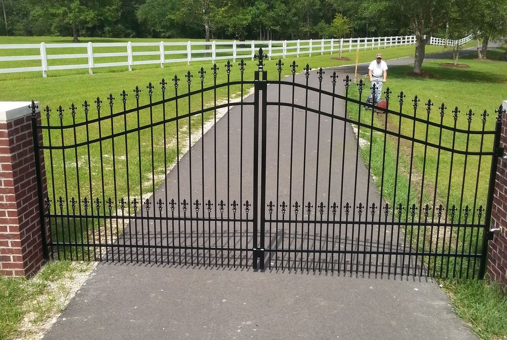 Details About Veterans Discount Steel Driveway Gate 11