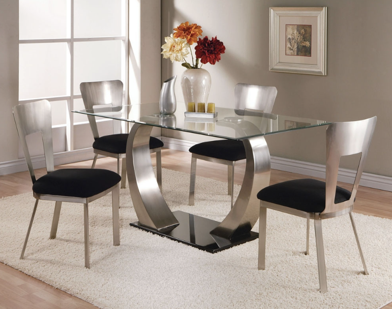 Sydney Dining Table in 2019 Glass dining table, Glass