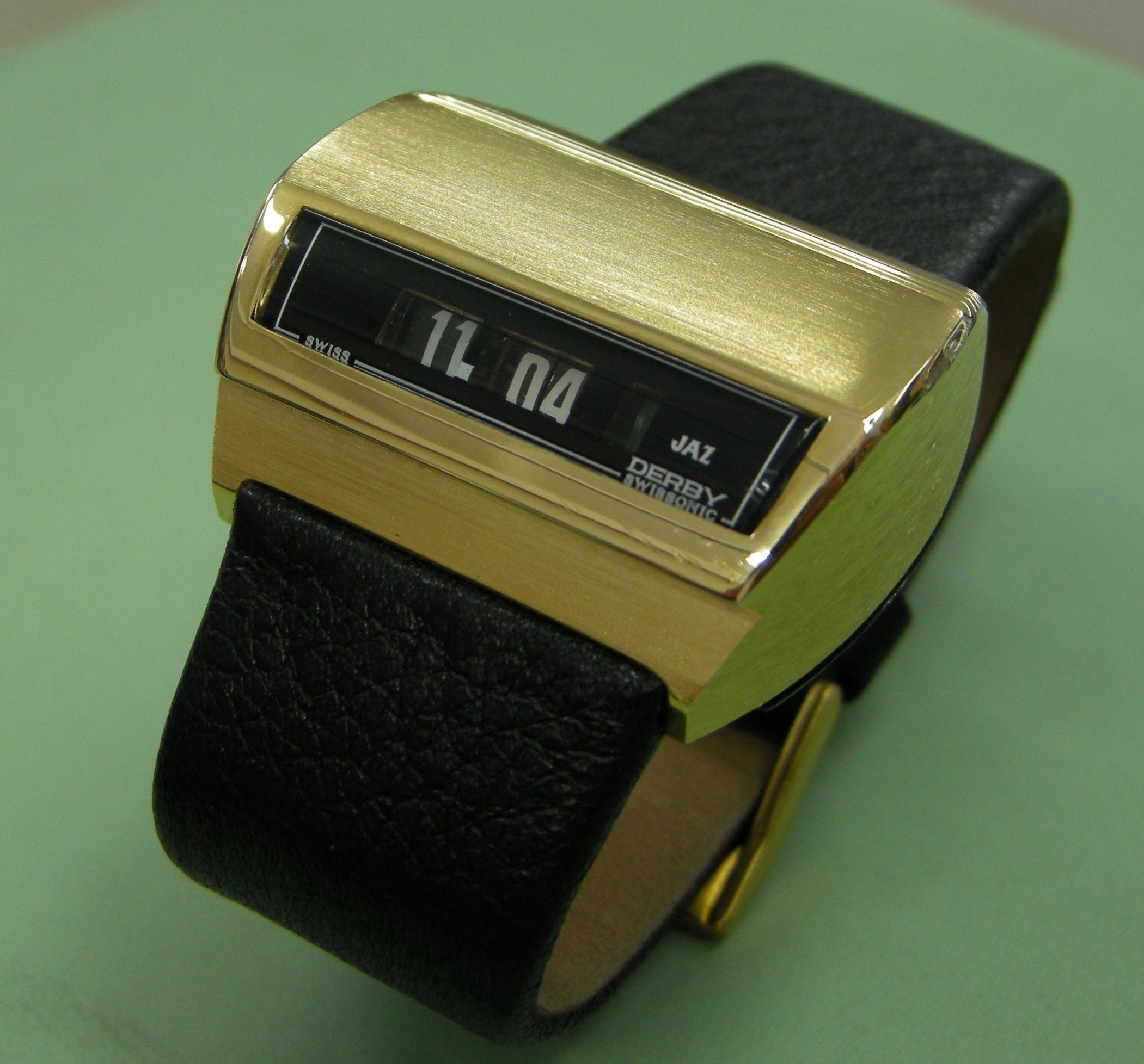 Jaz Derby electronic (not quartz) digital drivers watch also from