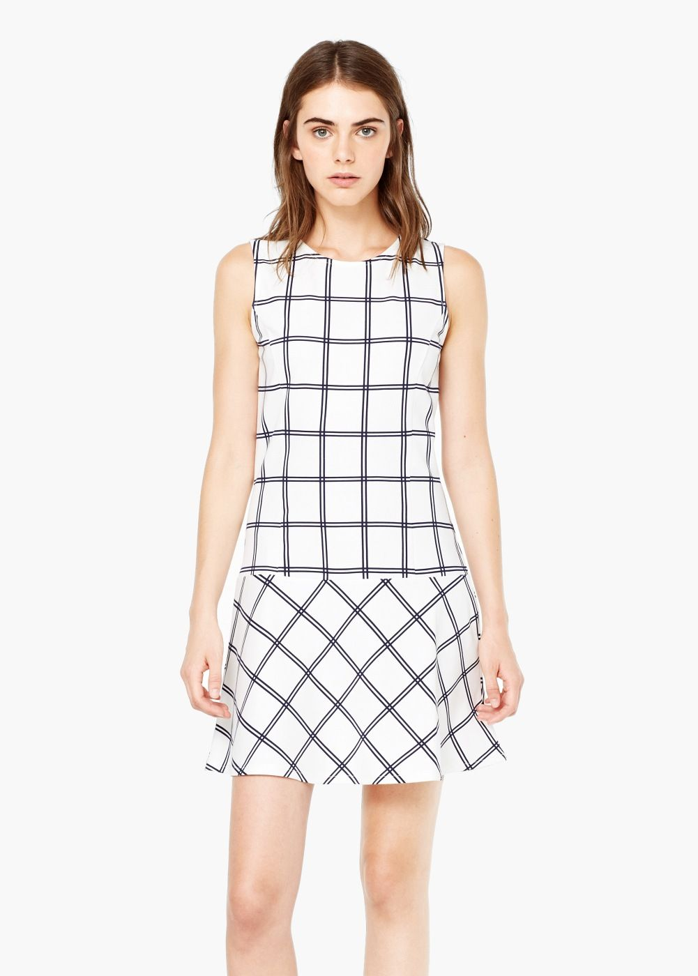 29ed1a306f5ab Check dress - Woman in 2019 | Dresses | Dresses, Fashion, Check dress