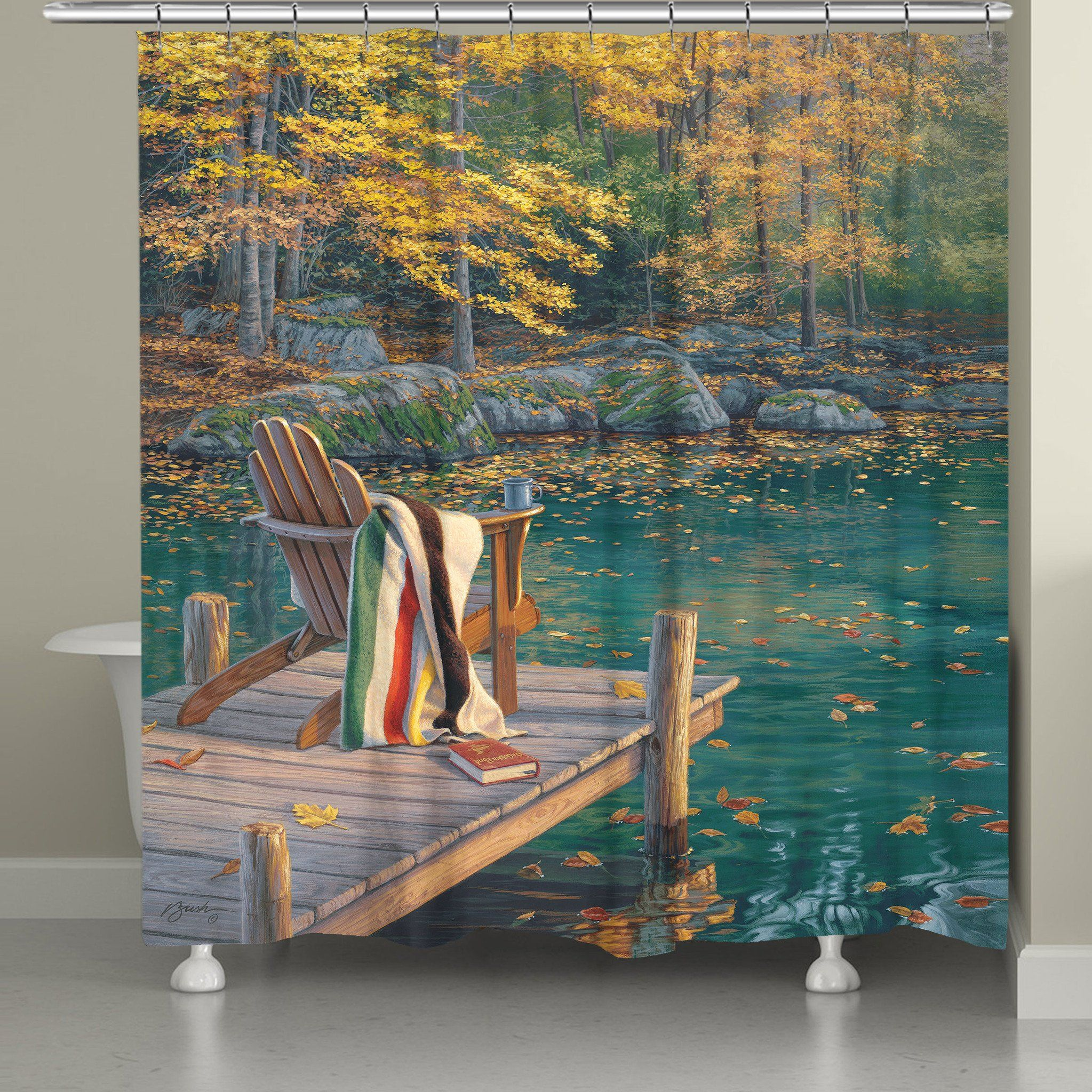 Bring A Touch Of Nature Into Your Bathroom With The Golden Pond