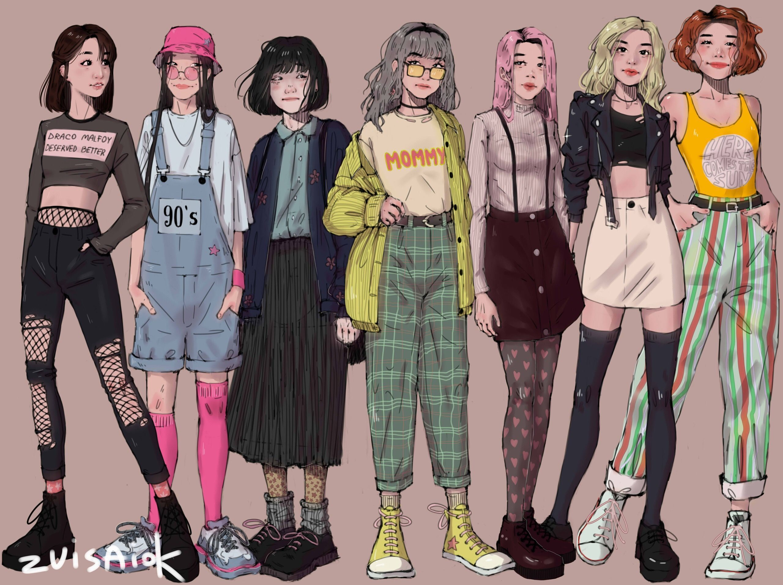 Pin by Anotherqwq on meee in 2020 | Fashion design drawings