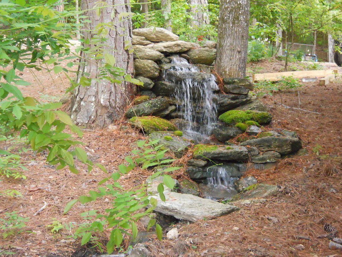 homemade outdoor fountain ideas natural homemade water fountain