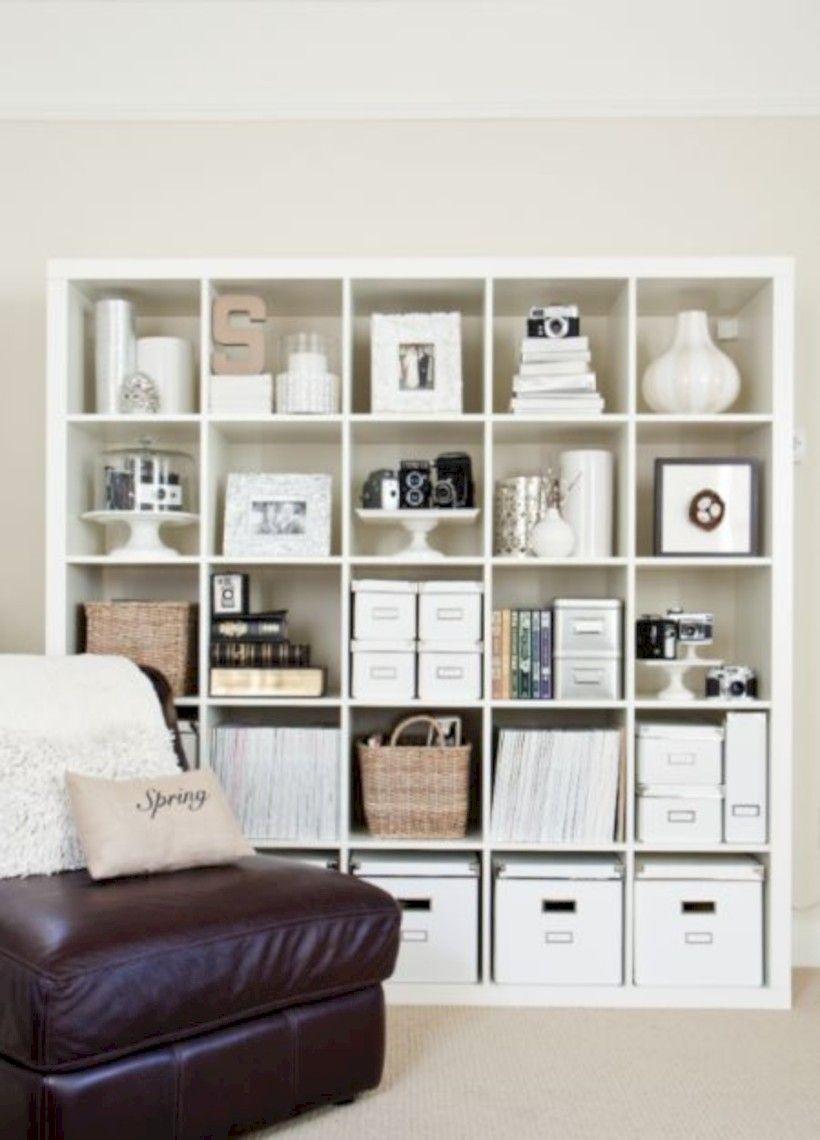 60 Stunning Ikea Kallax Ideas Hacks Homecantuk Com Home Ikea Bookcase Ikea Kallax Shelf Ikea kallax ideas bedroom
