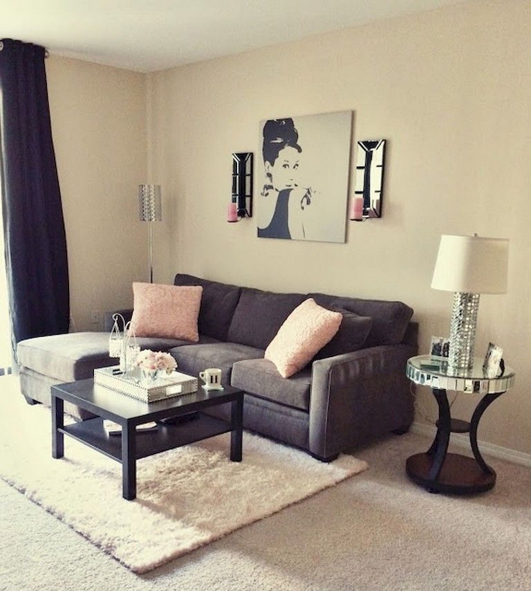 65+ Comfy Living Room Ideas For Small Apartments   Cute ...