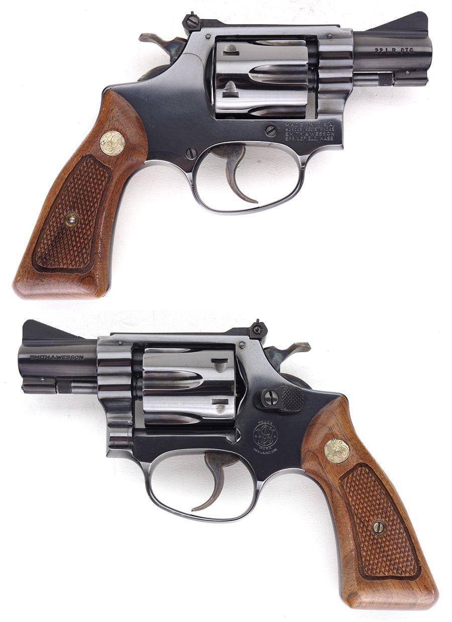 SMITH & WESSON S&W MODEL 34-1 REVOLVER  22 LR 2 INCH BARREL | guns