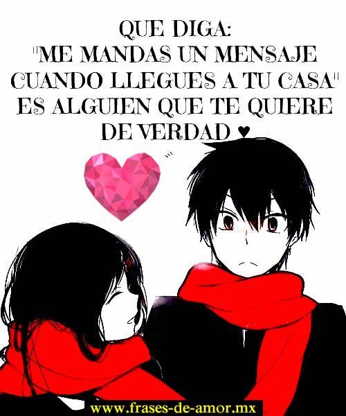 Frases De Amor Lindas Y Tiernas Para Enviar Anime Anime Qoutes