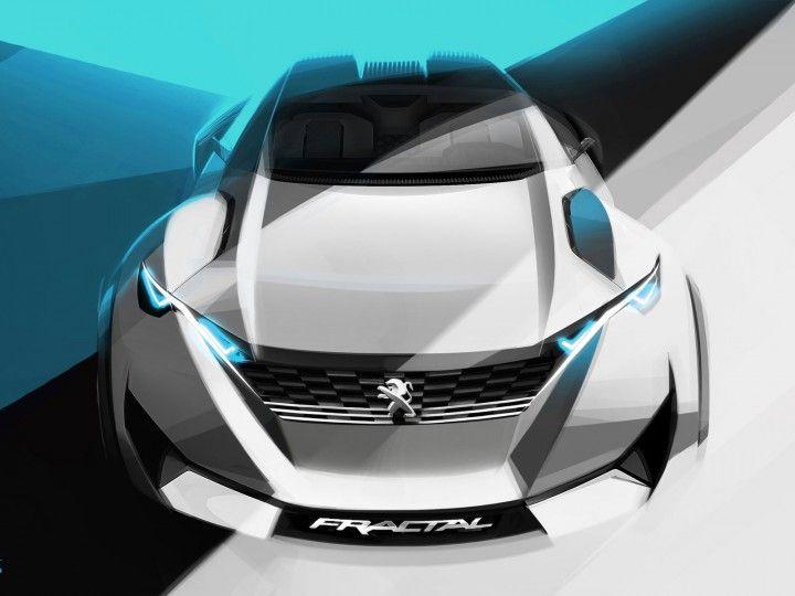 Peugeot Fractal Concept: design gallery