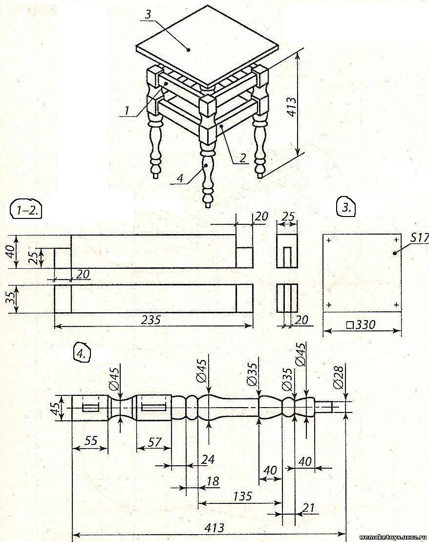 Деревянные изделия своими руками чертежи фото 473