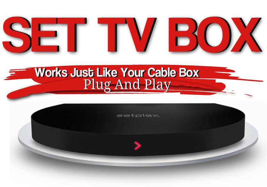set tv now sp 110 iptv box fire stick tv box tvs. Black Bedroom Furniture Sets. Home Design Ideas