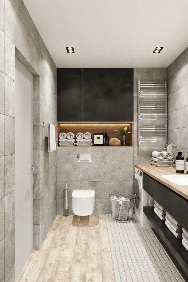 Pinlol Lolowski On Wystroje  Pinterest  Toilet Interiors Magnificent Gym Bathroom Designs Inspiration Design