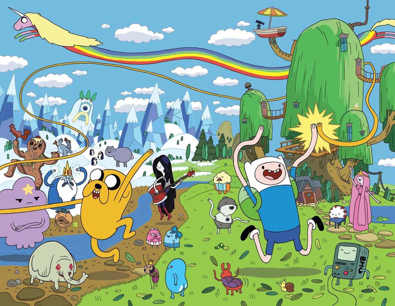 Las Mejores Series De Dibujos Animados Para Adultos Adventure Time Personajes Fiestas De Horas De Aventura Cumpleanos De Adventure Time