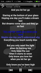 Minilyrics Aplikasi Pemutar Musik Dengan Lirik Lagu Lirik Lagu Lagu Lirik