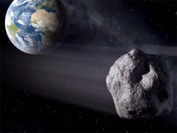 Amanhã o asteróide de US$ 195 bilhões vai nos dar o prazer da ilustre visita (raspão) sem causar problemas...
