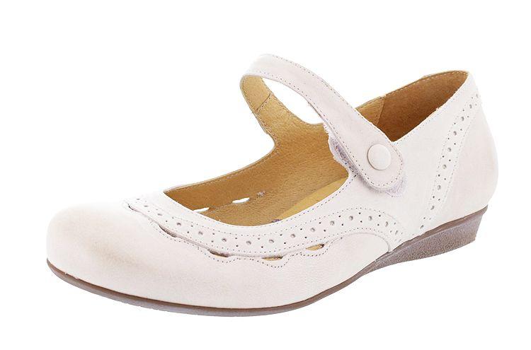 BRK 978 BRAKO Lucy 6826-marfil-rock Damen Ballerina beige