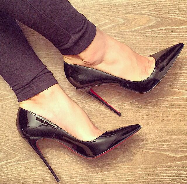 1e9a84ba4f3 SOTN - shoes of the night so kate 120mm Christian Louboutin ❤ love ❤️