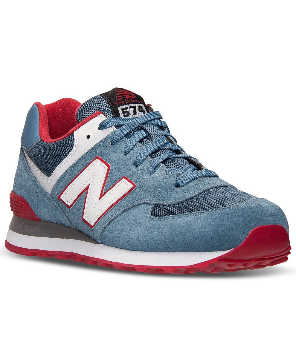 New Balance Men's 574 Core Plus Casual Sneakers from