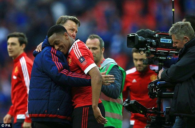 Louis Van Gaal Confident He Will Be At Manchester United
