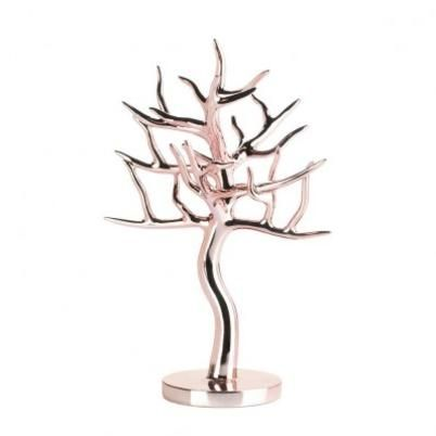 Rose Gold Jewelry Tree - BDK's Gifts and Deco... | Scott's Marketplace