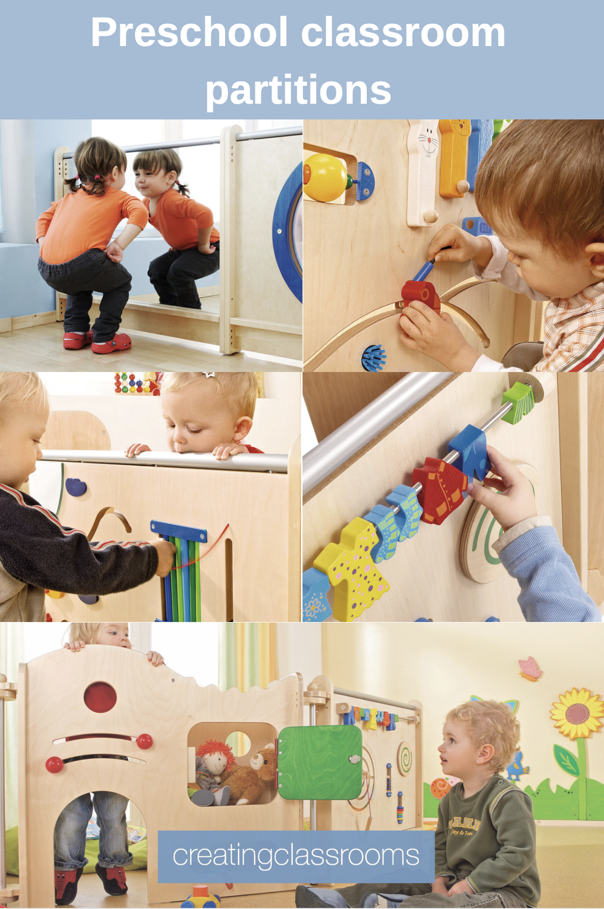 Early Years Classroom partitions