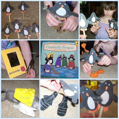 Crafty Moms Share: Fairy Tales in Different Cultures--Cinderella Penguin or Antarctica