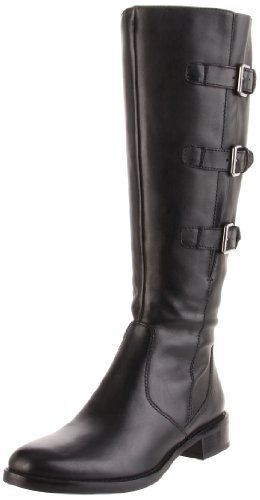 Best Boots For Women   ECCO Womens Hobart Buckle BootBlack37