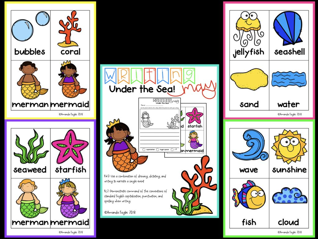 Differentiated Writing Centers For Kindergarten