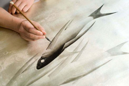de Gournay : handpainted wallpaper