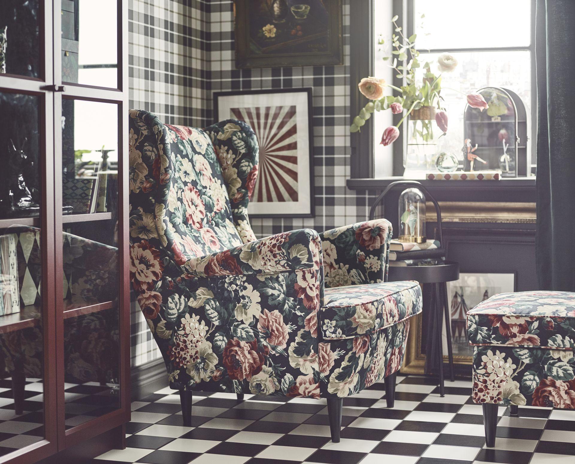 Strandmon Poltrona Lingbo Multicor Annapolis Home Ikea Ikea