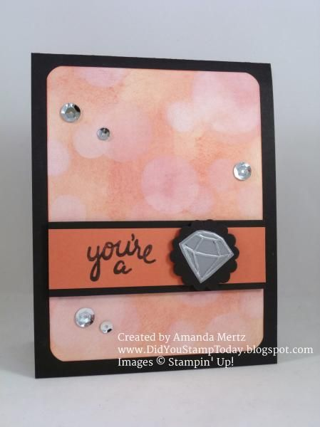 Bokeh Gem by mandypandy - Cards and Paper Crafts at Splitcoaststampers
