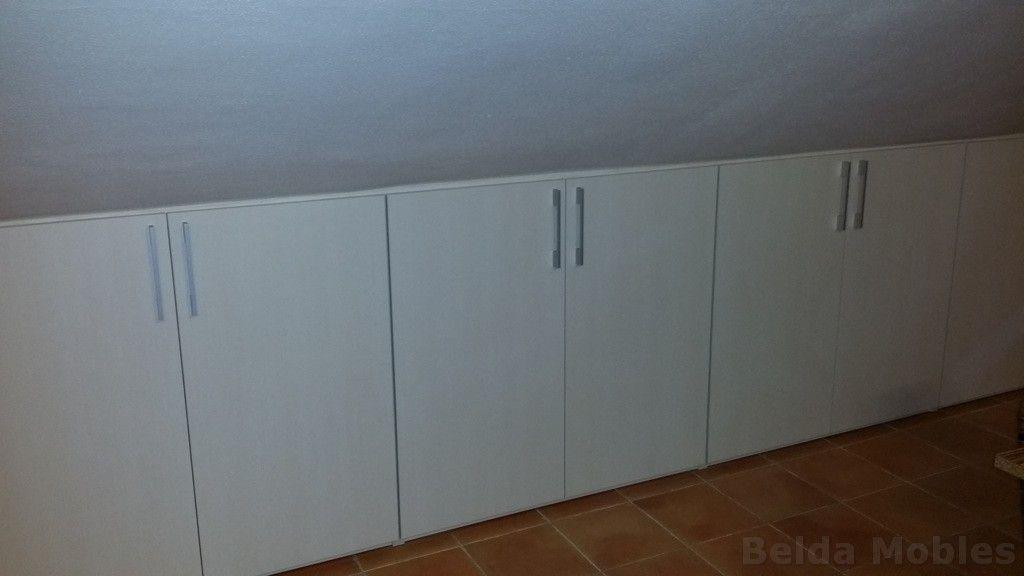 Aprovechamientos bajo cubierta de buhardillas con los armarios de muebles belda no te quedan - Muebles belda ...