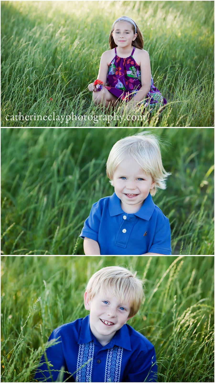 Wildflower children pictures, children photography, spring