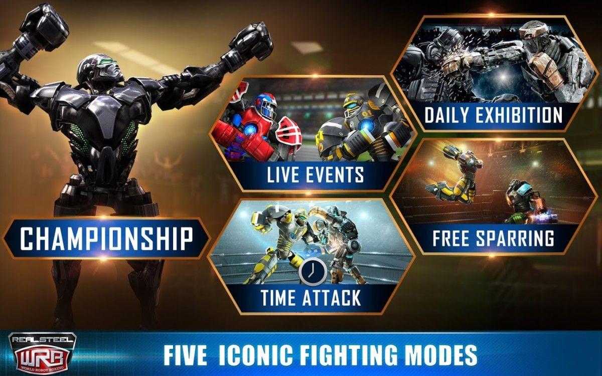 Real Steel World Robot Boxing V37 37 196 Apk Mod Money Ad Free