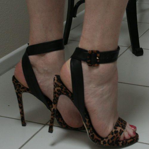 Contrast Ankle Strappy Heels - http://myshoebazar.com/product/contrast-ankle-strappy-heels/