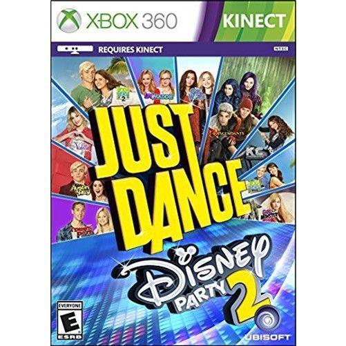 Just Dance Disney Party 2 Xbox 360 Kids Fiestas Infantiles