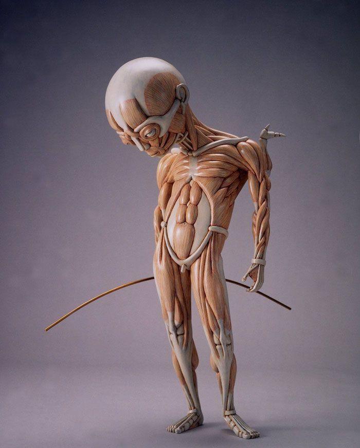 Alien Anatomy Sculptures by Masao Kinoshita | Pinterest | Anatomy ...