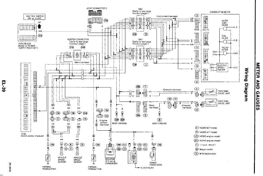 nissan 910 diagrama de cableado