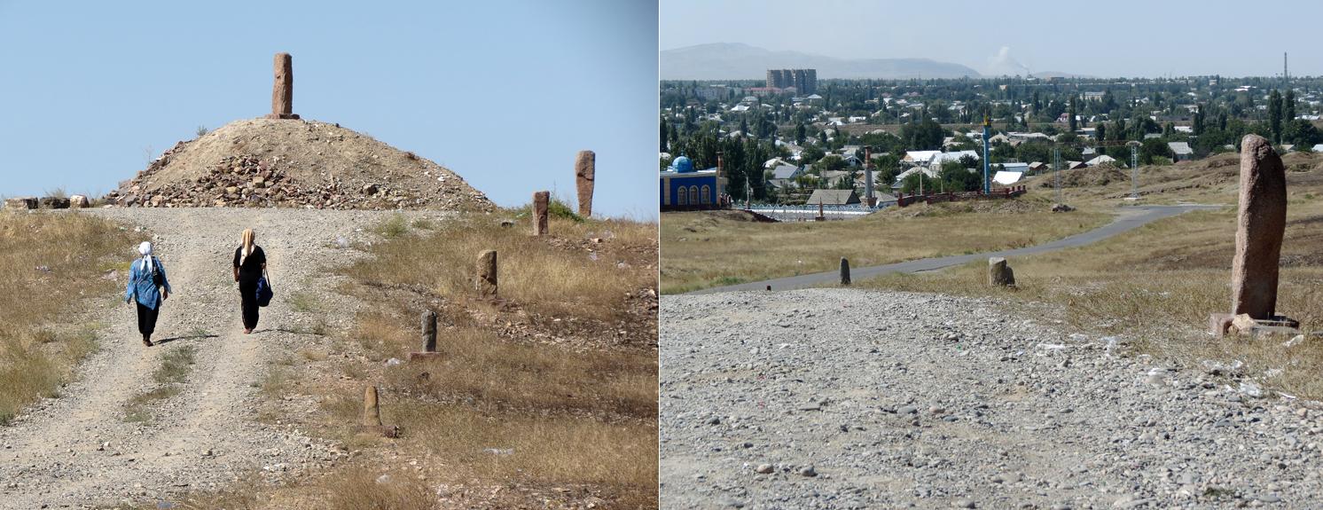 Taraz Burials Kurgan Kazakhstan