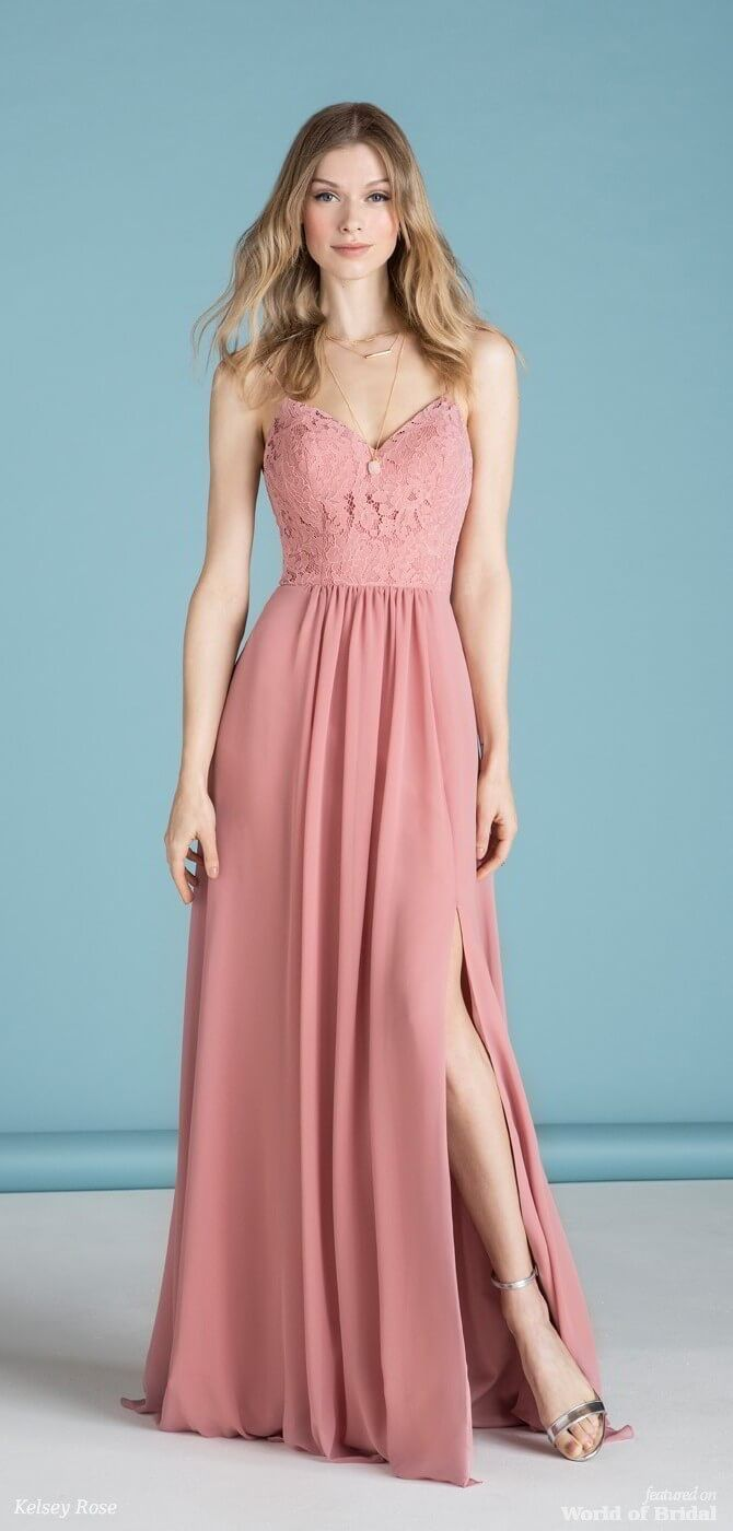 Kelsey Rose 2018 Bridesmaids Dresses | Delicate, Bodice and Rose ...