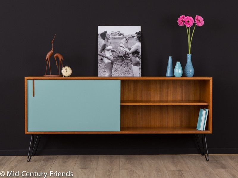 vintage kommoden 1960er sideboard kommode 50er vintage wk ein designerst ck von mid. Black Bedroom Furniture Sets. Home Design Ideas