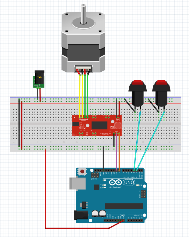 Arduino stepper code basics arduino evolution and cameras for Arduino and stepper motor
