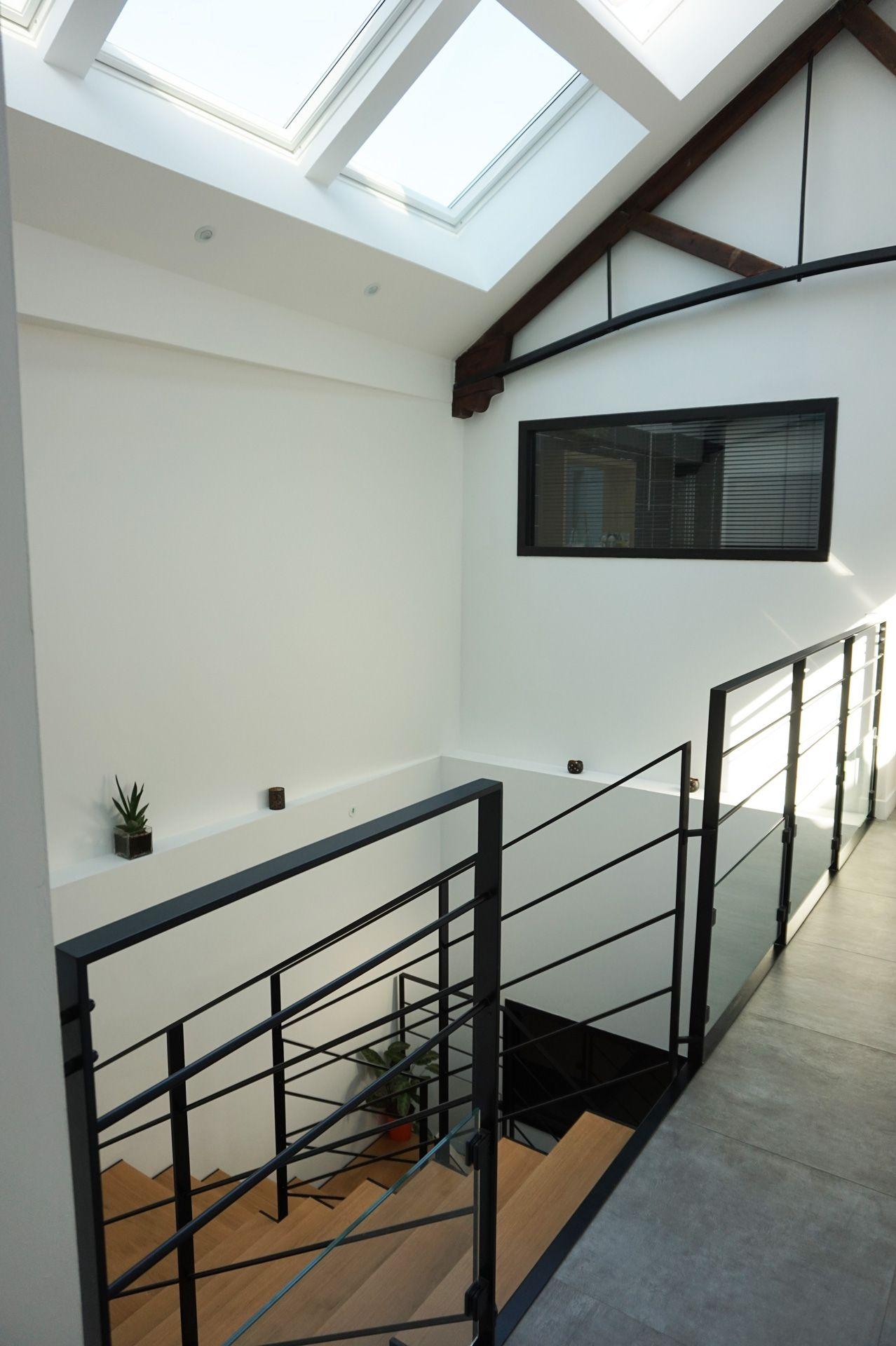 un garage transform en loft par kiosquedeco lydi r alisations kiosque deco lydie pineau. Black Bedroom Furniture Sets. Home Design Ideas